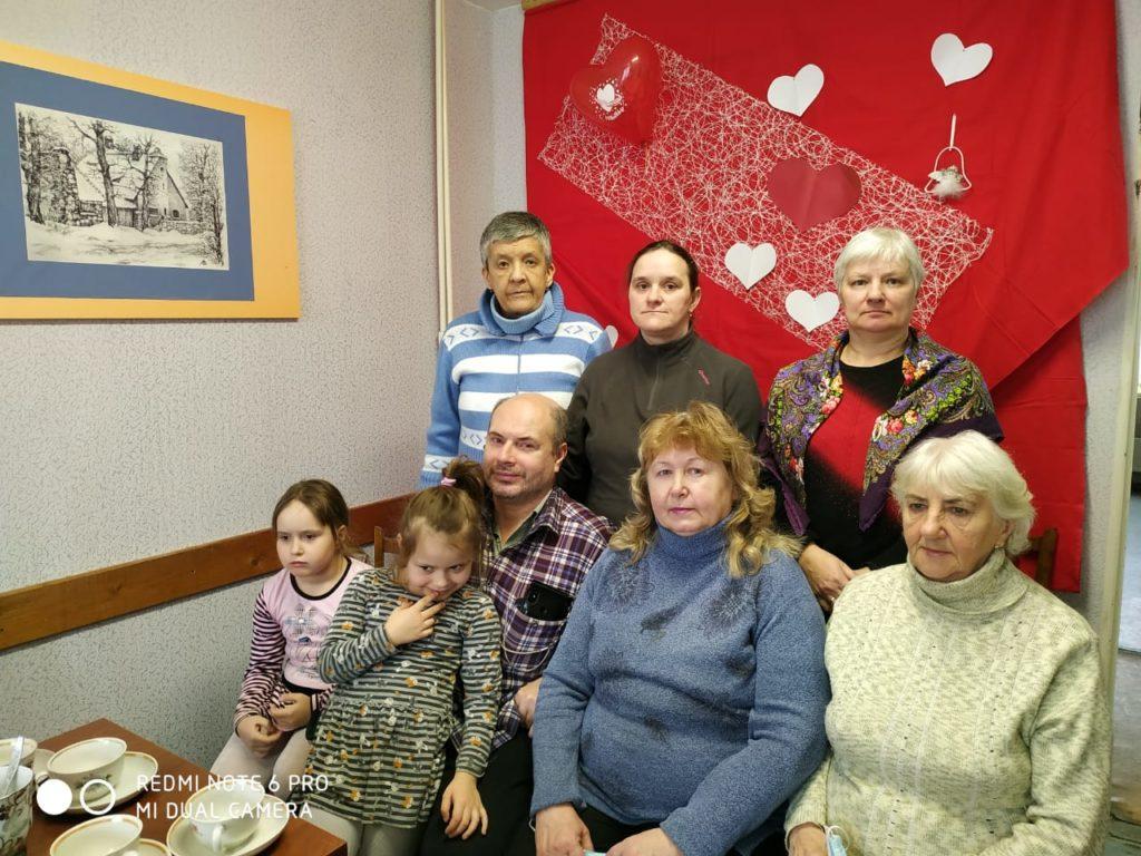 Чаепитие Общество глухих СПб и ЛО