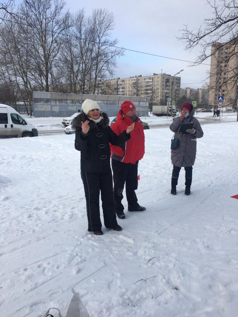 СПб ВОГ на Лыжных гонках