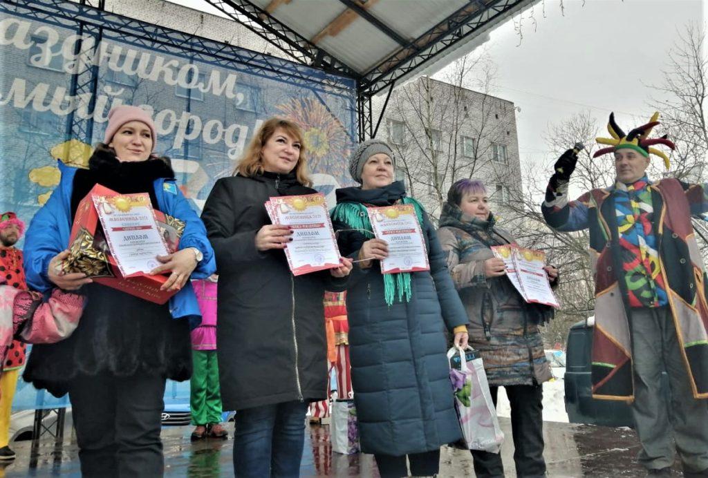 Награждение Ирины Петровой - члена СПБ РО ОООИ ВОГ