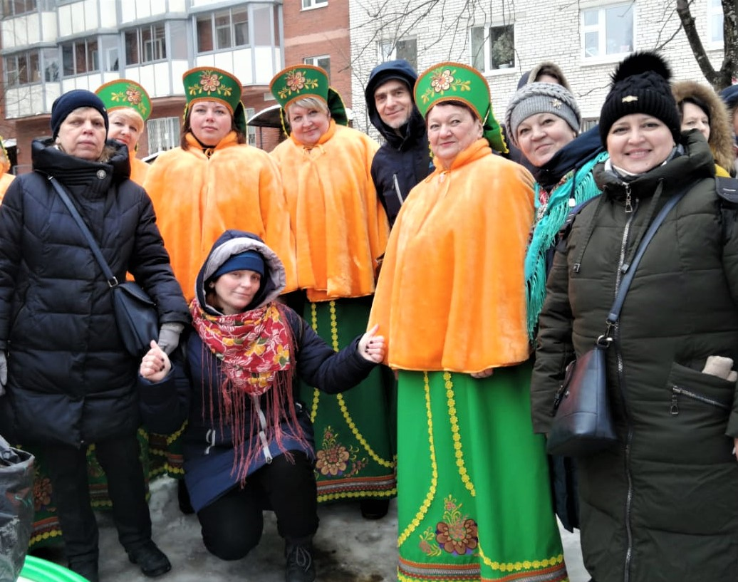 СПб и ЛО РО ВОГ на мероприятии в городе Сертолово